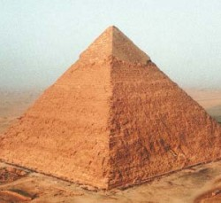 A pyramid of the Egyptian Civilization